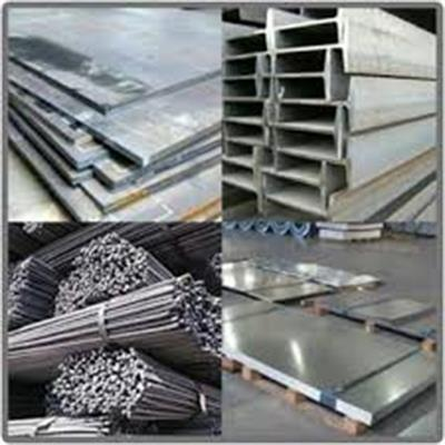Offering Gold, Slab, Rebar and I-beam Basket on Metal and Mineral Trading Floor