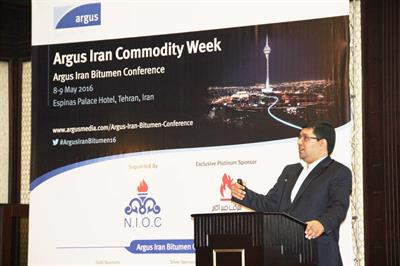 CEO of IME in Argus Iran Bitumen Conference