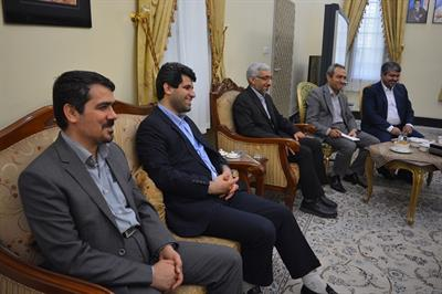 IME's Senior Managers Meeting with the Ambassador of Iran to Iraq